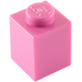 LEGO Dark Pink Brick 1 x 1 (3005)