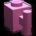 LEGO Dark Pink Brick 1 x 1 with Handle