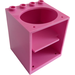 LEGO Dark Pink Cabinet 4 x 4 x 4 with Sink Hole