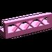 LEGO Dark Pink Fence Lattice 1 x 4 x 1
