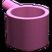 LEGO Dark Pink Minifig Saucepan
