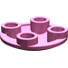 LEGO Dark Pink Plate 2 x 2 Round with Rounded Bottom