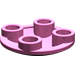 LEGO Dark Pink Round Plate 2 x 2 with Rounded Bottom