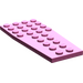 LEGO Dark Pink Wing 4 x 9 without Stud Notches