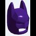 LEGO Dark Purple Batman Mask with Angular Ears (10113)