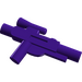 LEGO Dark Purple Minifig Gun Short Blaster