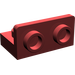 LEGO Dark Red Bracket 1 x 2 - 1 x 2 Up