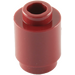 LEGO Dark Red Brick 1 x 1 Round with Open Stud (3062)