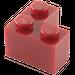 LEGO Dark Red Brick 2 x 2 Corner (2357)
