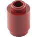 LEGO Dark Red Brick Round 1 x 1 with Open Stud with Open Stud (3062)