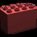 LEGO Dark Red Duplo Brick 2 x 4 x 2 (31111)