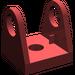 LEGO Dark Red Hose Reel 2 x 2 Holder (2584)