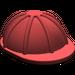 LEGO Dark Red Minifig Construction Helmet