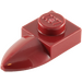 LEGO Dark Red Plate 1 x 1 with Tooth (49668)