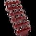 LEGO Dark Red Staircase 7 x 4 x 6 Open (30134)