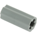 LEGO Dark Stone Gray Axle Connector (Smooth with 'x' Hole) (59443)