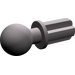 LEGO Dark Stone Gray Axle with Ball