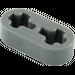 LEGO Dark Stone Gray Beam 2 x 0.5 with Axle Holes (41677)