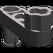 LEGO Dark Stone Gray Beam 3 x 0.5 with Knob and Pin
