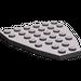 LEGO Dark Stone Gray Boat Bow Plate 6 x 7