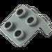 LEGO Dark Stone Gray Bracket 1 x 2 - 2 x 2 (21712 / 44728 / 92411)