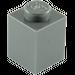 LEGO Dark Stone Gray Brick 1 x 1 (3005)