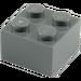 LEGO Dark Stone Gray Brick 2 x 2 (3003)