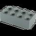 LEGO Dark Stone Gray Brick 2 x 4 (3001)