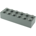 LEGO Dark Stone Gray Brick 2 x 6 (2456 / 44237)