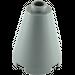 LEGO Dark Stone Gray Cone 2 x 2 x 2 (Completely Open Stud) (3942 / 14918)
