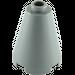 LEGO Dark Stone Gray Cone 2 x 2 x 2 (Open Stud) (3942 / 14918)