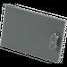 LEGO Dark Stone Gray Container Cupboard 2 x 3 x 2 Door (4533)