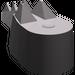 LEGO Dark Stone Gray Crocodile Tail