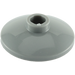 LEGO Dark Stone Gray Dish 2 x 2 Ø16 Inverted (4740)