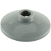LEGO Dark Stone Gray Dish 2 x 2 Inverted (4740)