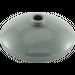 LEGO Dark Stone Gray Dish 3 x 3 Inverted (43898)