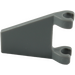 LEGO Dark Stone Gray Flag 2 x 2 Trapezoid (44676)