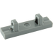 LEGO Dark Stone Gray Hinge Tile 1 x 4 Locking with 2 Single Stubs on Top (44822 / 95120)