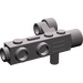 LEGO Dark Stone Gray Minifig Camera with Side Sight