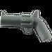 LEGO Dark Stone Gray Minifig Gun Revolver (30132 / 88419)