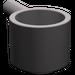 LEGO Dark Stone Gray Minifig Saucepan (4529)