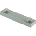 LEGO Dark Stone Gray Plate 1 x 4 with Two Studs without Groove (92593)