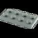 LEGO Dark Stone Gray Plate 2 x 4 (3020)