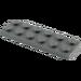 LEGO Dark Stone Gray Plate 2 x 6 (3795)