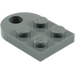 LEGO Dark Stone Gray Plate 3 x 2 with Hole (3176)