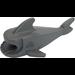 LEGO Dark Stone Gray Shark Body without Gills (2547 / 14518)