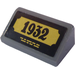 "LEGO Dark Stone Gray Slope 1 x 2 (31°) with ""1932"" Sticker"