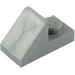 LEGO Dark Stone Gray Slope 1 x 2 (45°) with Plate (15672 / 92946)