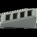 LEGO Gris Pierre Foncé  Pente 1 x 2 x 0.6 (18°) avec Grille (61409)