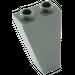 LEGO Dark Stone Gray Slope 1 x 2 x 3 (75°) Inverted (2449)